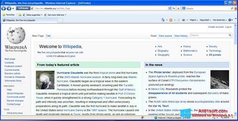 Ekran görüntüsü Internet Explorer Windows 8.1
