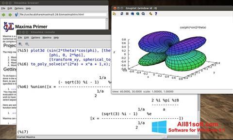 Ekran görüntüsü Maxima Windows 8.1