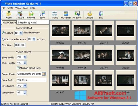 Ekran görüntüsü SnapShot Windows 8.1