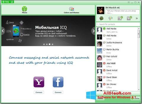 Ekran görüntüsü ICQ Windows 8.1