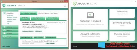 Ekran görüntüsü Adguard Windows 8.1