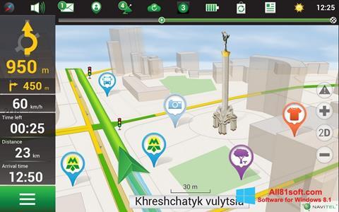 Ekran görüntüsü Navitel Navigator Windows 8.1