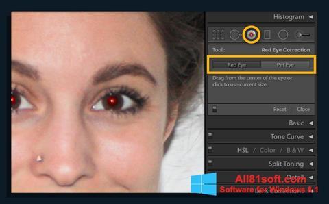 Ekran görüntüsü Red Eye Remover Windows 8.1