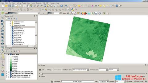 Ekran görüntüsü QGIS Windows 8.1