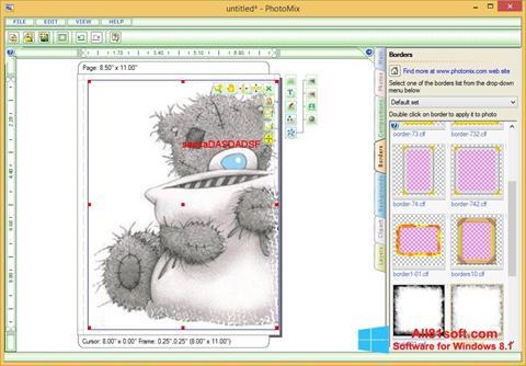 Ekran görüntüsü PhotoMix Collage Windows 8.1
